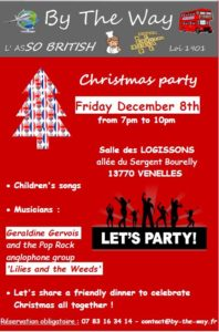 Christmas Party with By The Way in Venelles