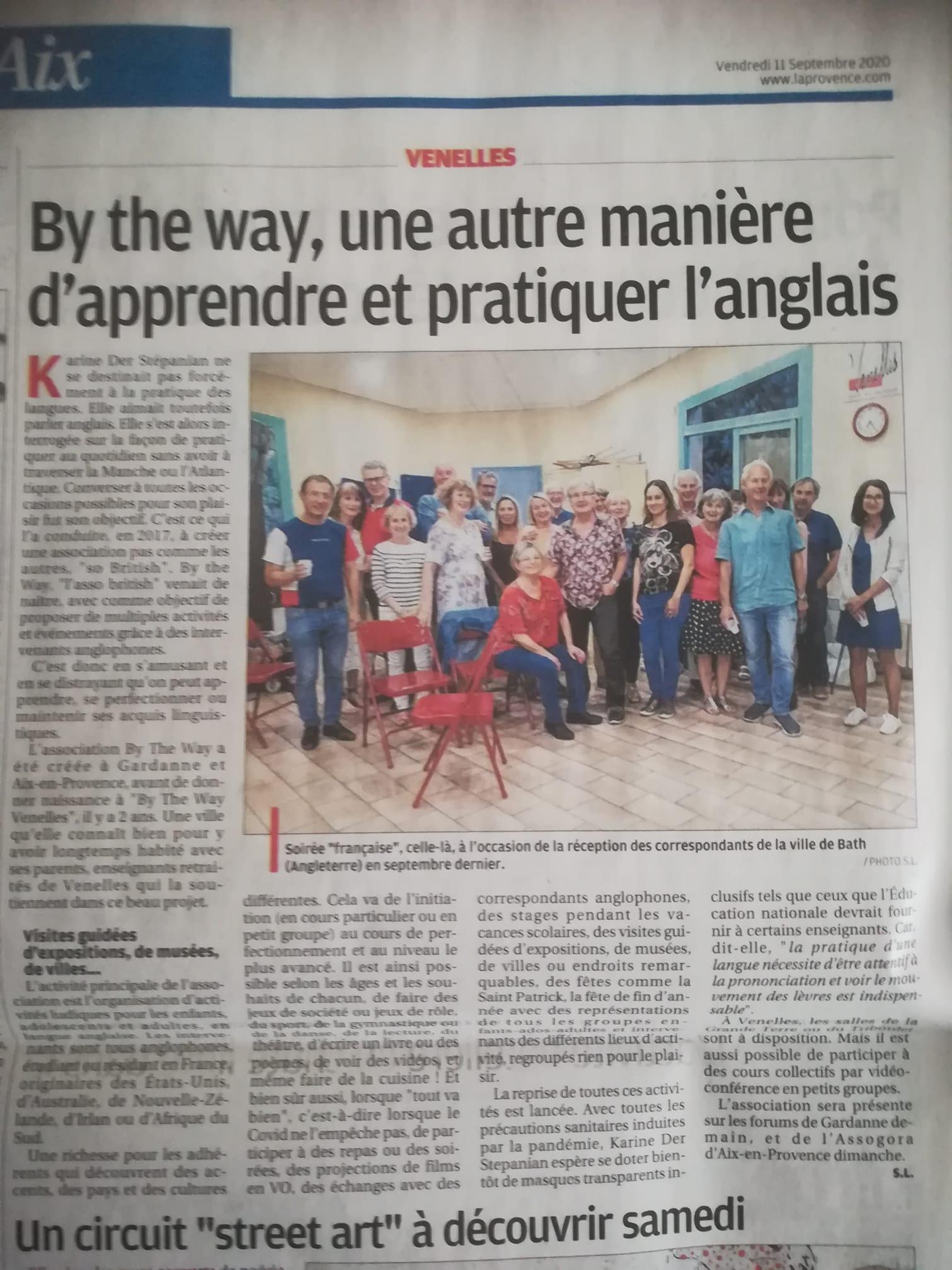 By The Way Venelles dans La Provence
